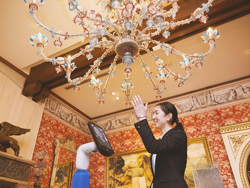 学芸員が解説するヴェネチアン・グラス特別企画展鑑賞ツアー